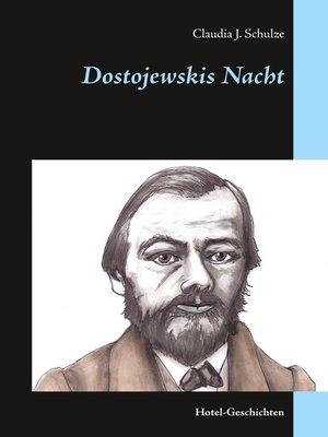 cover image of Dostojewskis Nacht