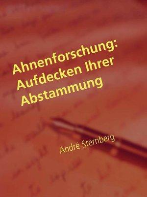 cover image of Ahnenforschung--Aufdecken Ihrer Abstammung