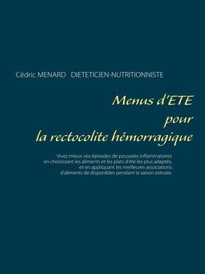 cover image of Menus d'été pour la rectocolite hémorragique