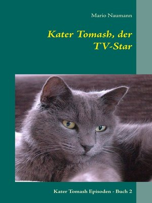 cover image of Kater Tomash, der TV-Star