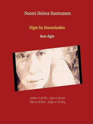 cover image of Digte fra Ensomheden