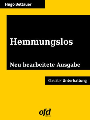 cover image of Hemmungslos