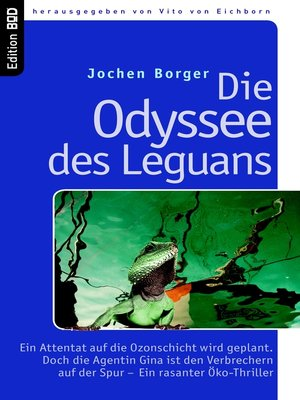 cover image of Die Odyssee des Leguans