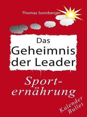 cover image of Das Geheimnis der Leader