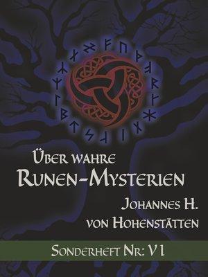 cover image of Über wahre Runen-Mysterien--VI