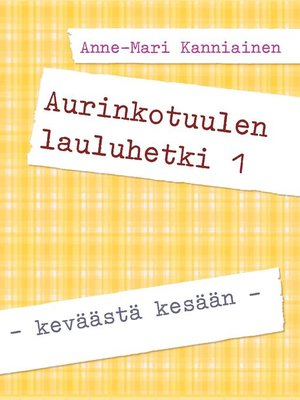 cover image of Aurinkotuulen lauluhetki 1