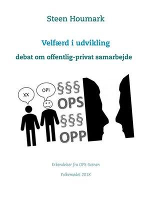 cover image of Velfærd i udvikling