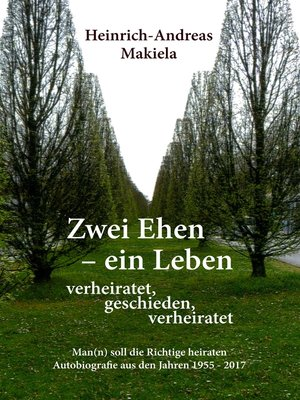 cover image of Zwei Ehen--ein Leben