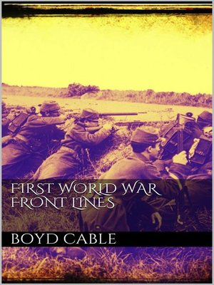 cover image of First World War Front Lines