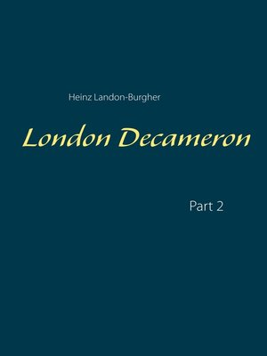 cover image of London Decameron