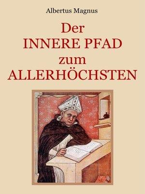 cover image of Der innere Pfad zum Allerhöchsten
