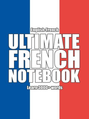cover image of Ultimate French Notebook