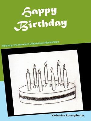 cover image of Happy Birthday
