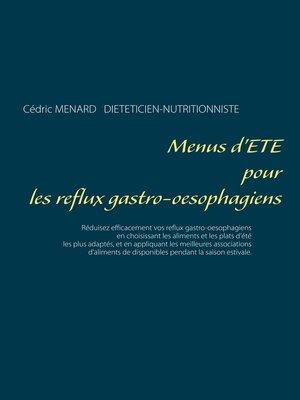cover image of Menus d'été pour les reflux gastro-oesophagiens