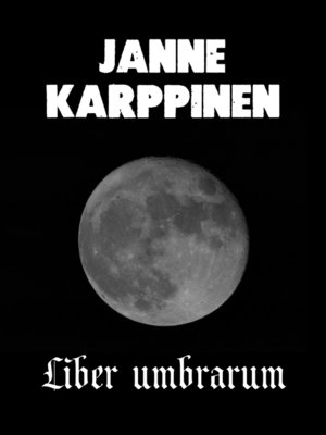 cover image of Liber umbrarum