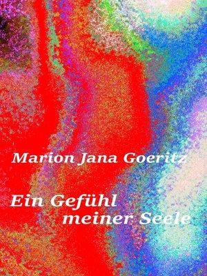 cover image of Ein Gefühl meiner Seele