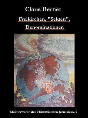 """cover image of Freikirchen, """"Sekten"""", Denominationen"""