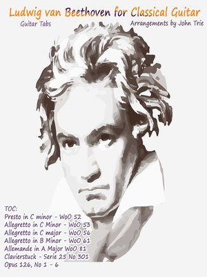 cover image of Beethoven Tablature for Classical Guitar