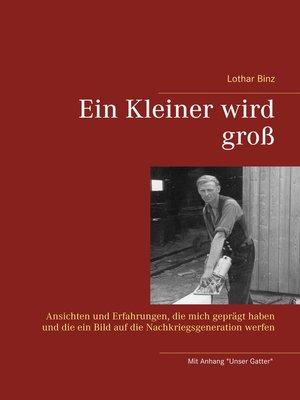 cover image of Ein Kleiner wird groß