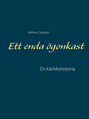 cover image of Ett enda ögonkast