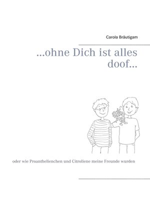 cover image of ...ohne Dich ist alles doof...