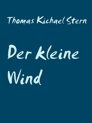 cover image of Der kleine Wind
