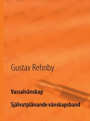 cover image of Vassalvänskap