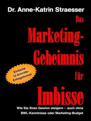 cover image of Das Marketing-Geheimnis für Imbisse