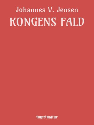 cover image of Kongens Fald