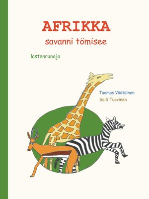 cover image of Afrikka--savanni tömisee