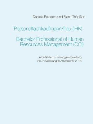 cover image of Personalfachkaufmann/-frau (IHK)