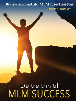 cover image of De tre trin til MLM Success