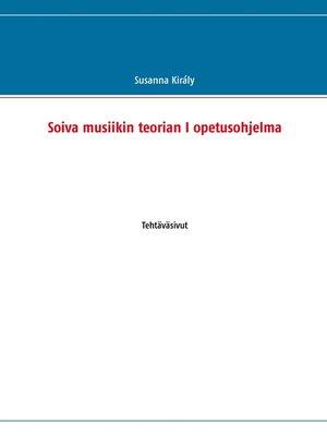 cover image of Soiva musiikin teorian I opetusohjelma