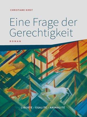 cover image of Eine Frage der Gerechtigkeit
