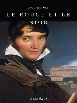 cover image of Le Rouge et le Noir