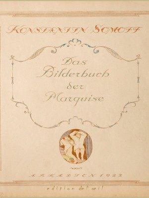 cover image of Das Bilderbuch der Marquise