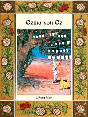 cover image of Ozma von Oz--Die Oz-Bücher Band 3
