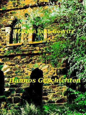 cover image of Hannos Geschichten