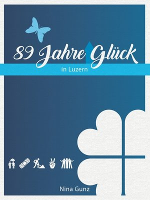 cover image of 89 Jahre Glück