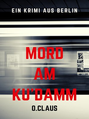 cover image of Mord am Kudamm