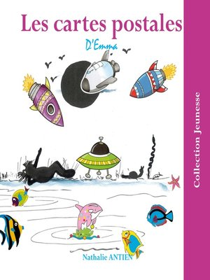 cover image of Les cartes postales d'Emma