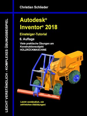 cover image of Autodesk Inventor 2018--Einsteiger-Tutorial