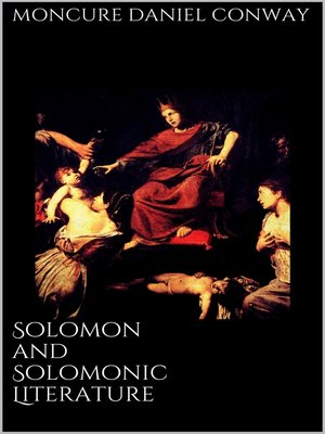cover image of Solomon and Solomonic Literature
