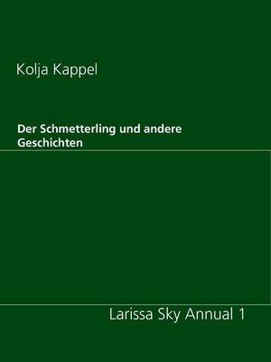 cover image of Der Schmetterling und andere Geschichten