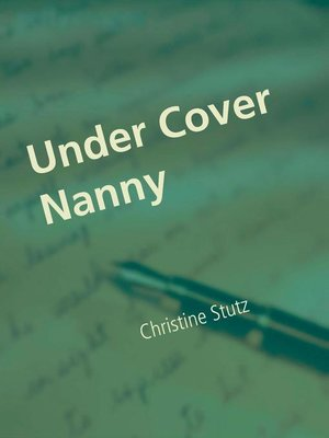 cover image of Under Cover Nanny