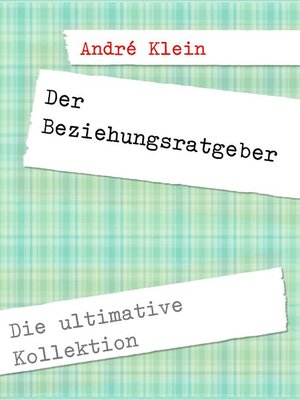 cover image of Der Beziehungsratgeber