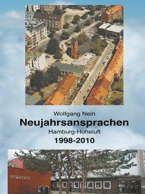 cover image of Neujahrsansprachen
