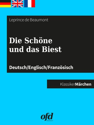 cover image of Die Schöne und das Biest