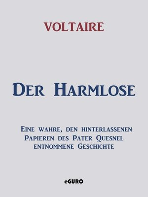 cover image of Der Harmlose