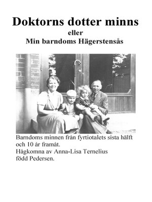 cover image of Doktorns dotter minns